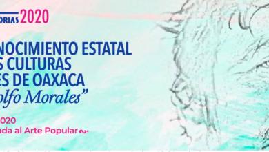 """Photo of Prorroga Seculta Convocatoria del Reconocimiento Estatal de las Culturas y Artes de Oaxaca """"Rodolfo Morales"""""""