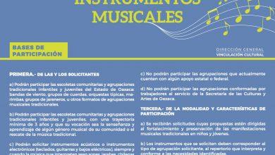 Photo of Anuncia Seculta la Convocatoria de Dotación de Instrumentos Musicales