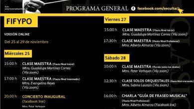Photo of Inaugura Seculta Festival Internacional de Flauta & Piccolo · Oaxaca