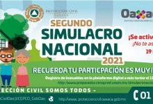 Photo of Este domingo 19 de septiembre, a las 11:30 horas, se realizará el Segundo Simulacro Nacional